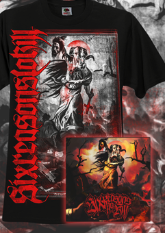 Six Reasons To Kill 'Rote Erde' Package Deal Shirt + 7inch